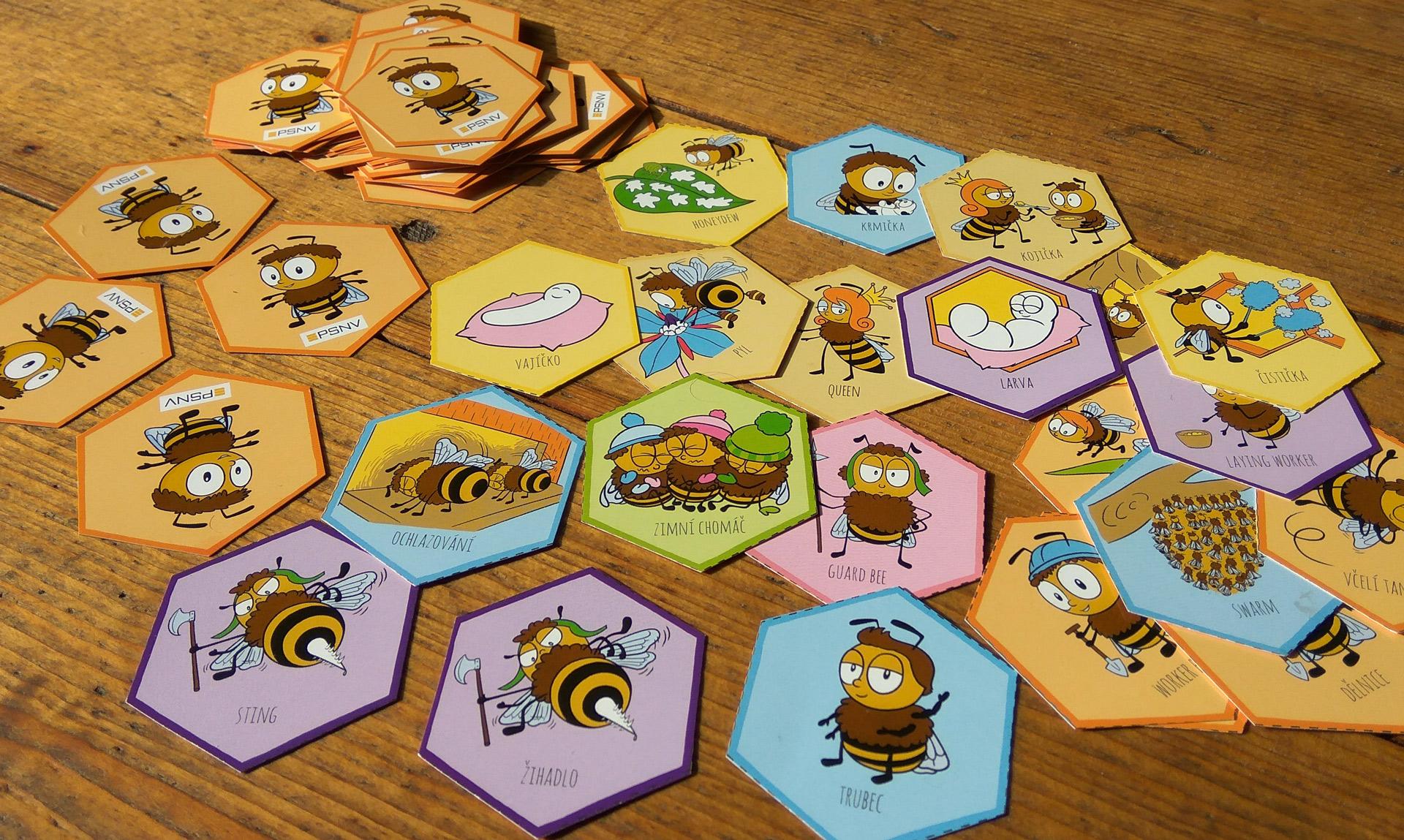 Pojďte pane, budeme si hrát se včelím pexesem!