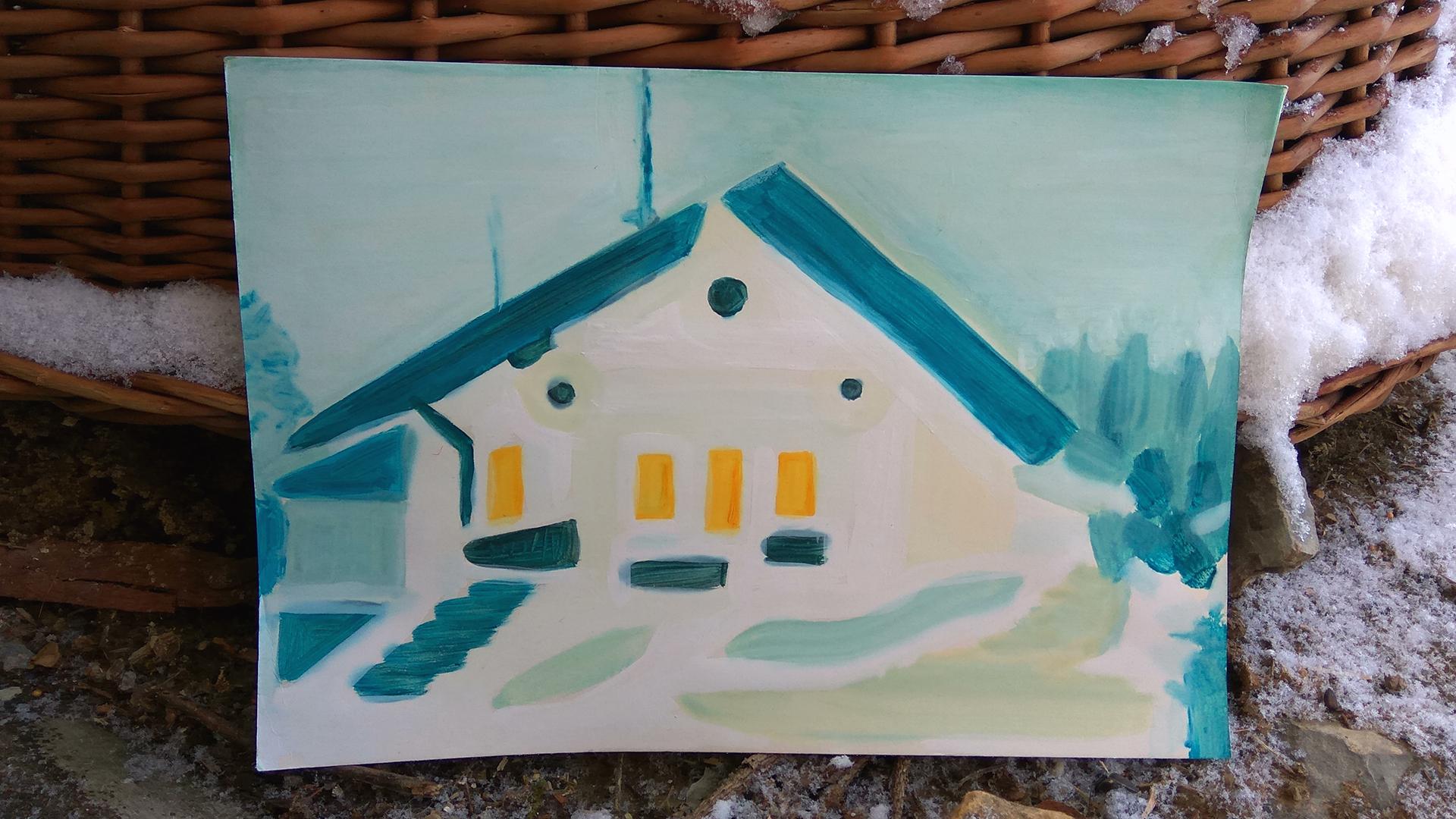 Abstraktní blbnutí pod dojmem z Kupkovy výstavy