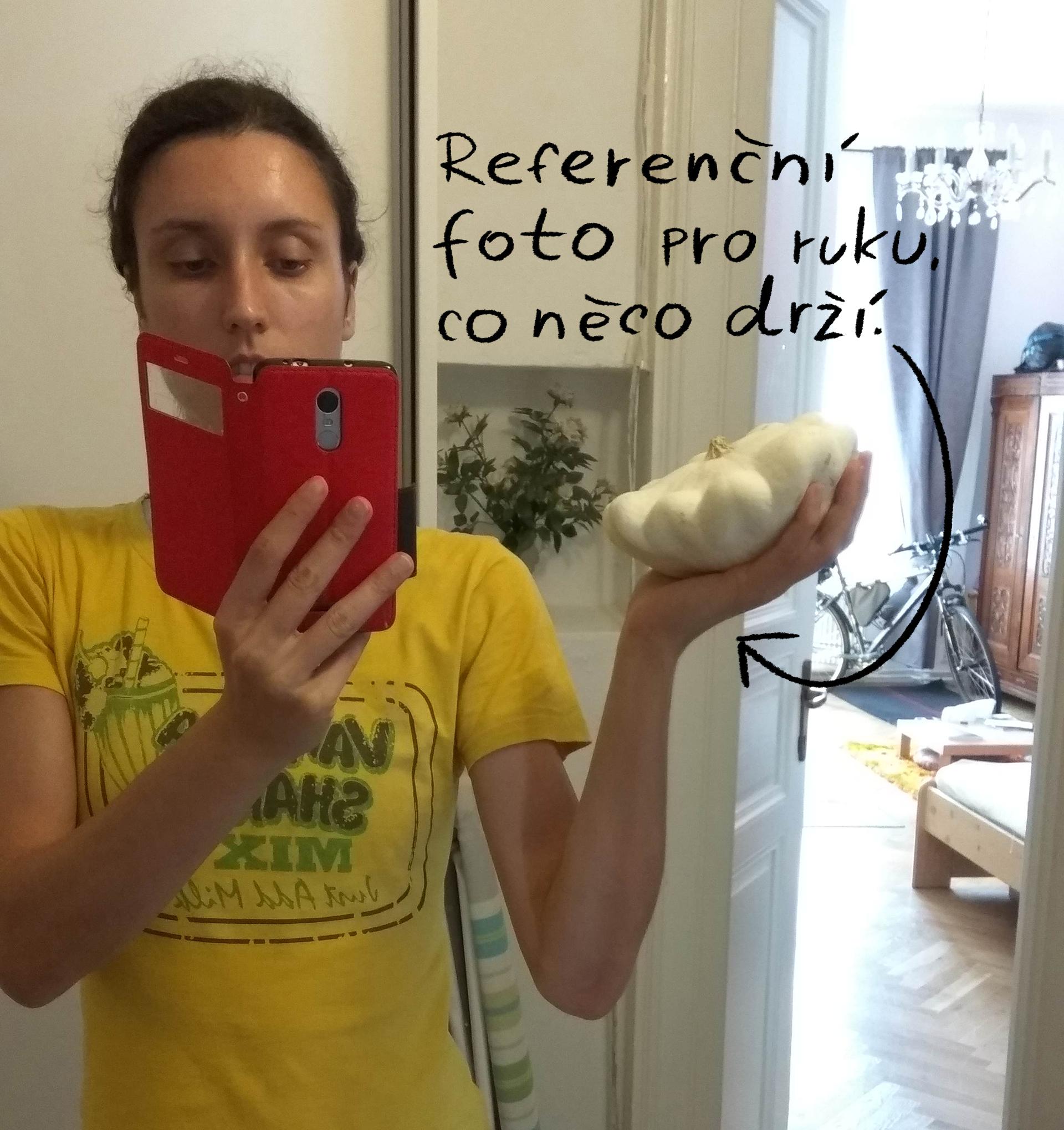 Odhalení utajených selfíček