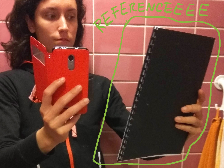 Odhalení utajených selfíček a dalších referenčních fotek 2