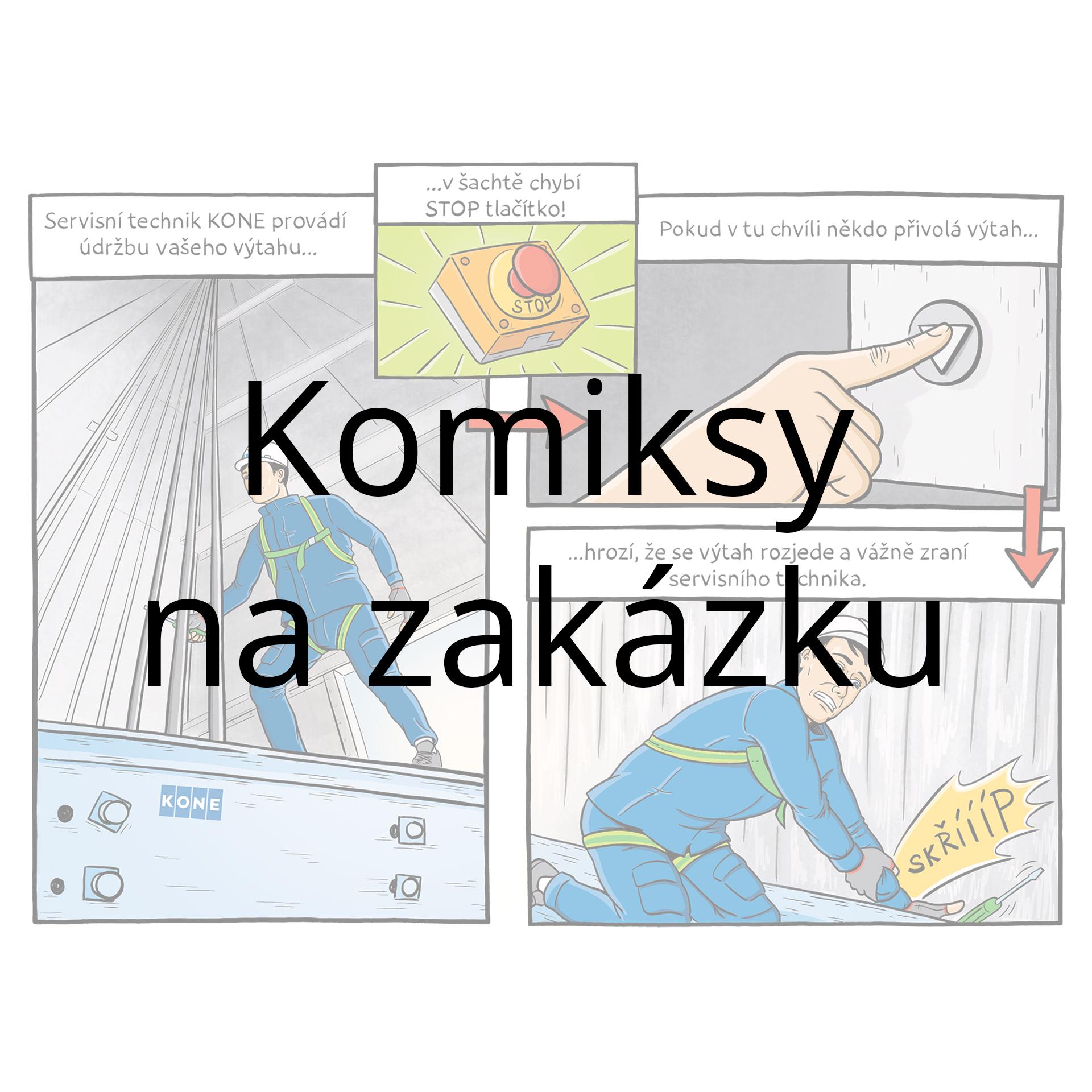 Komiksy na zakázku